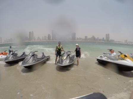 Jet skiing - Al Mamzar