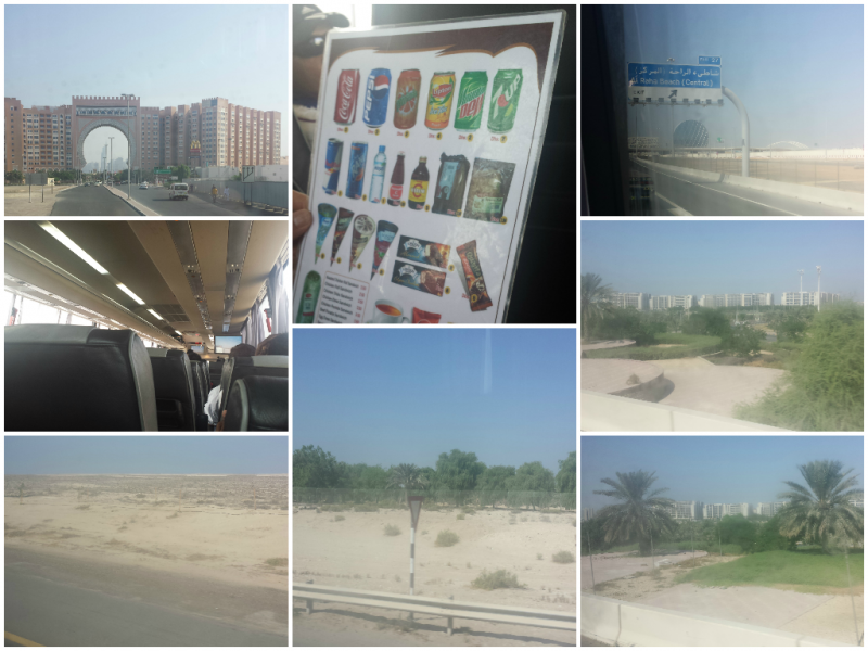 Bus from Dubai to Abu Dhabi