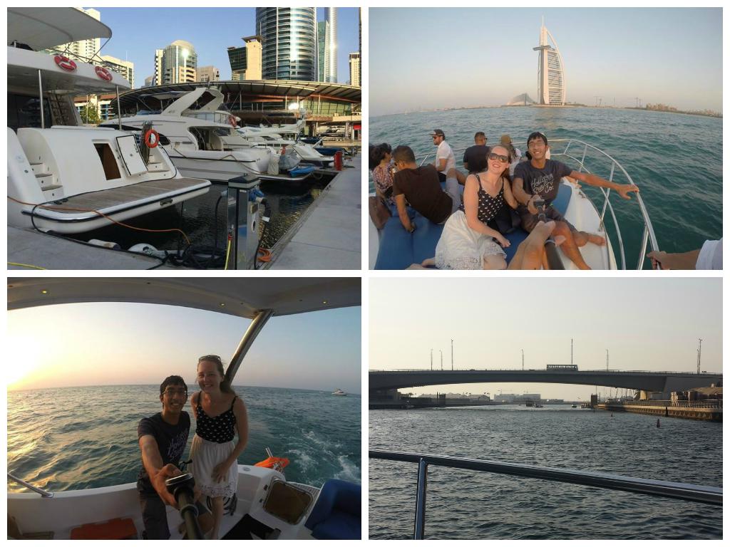 Yacht Trip Dubai Marina