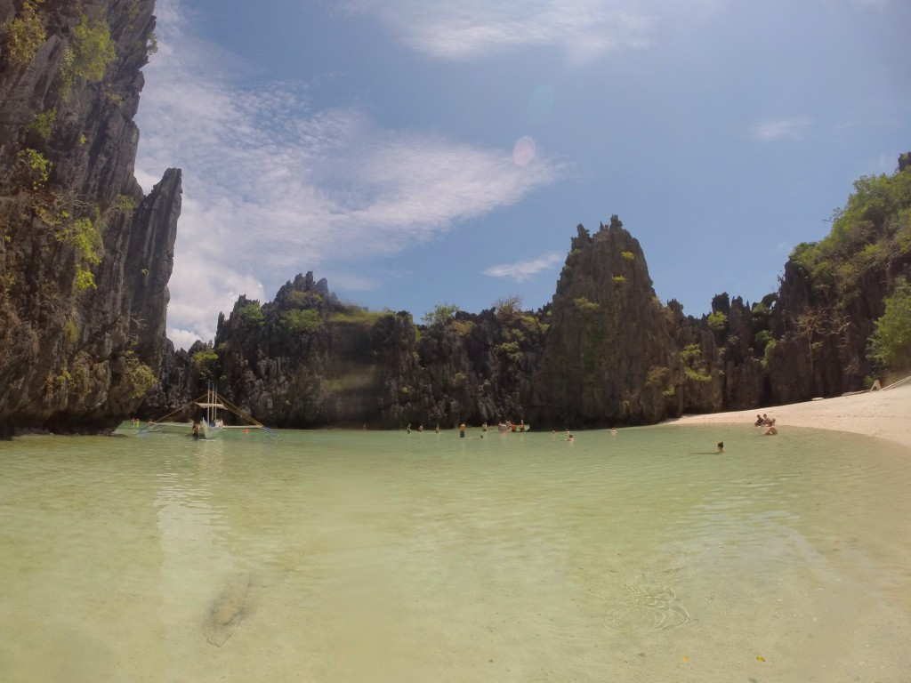 Hidden Beach, El Nido Tour C