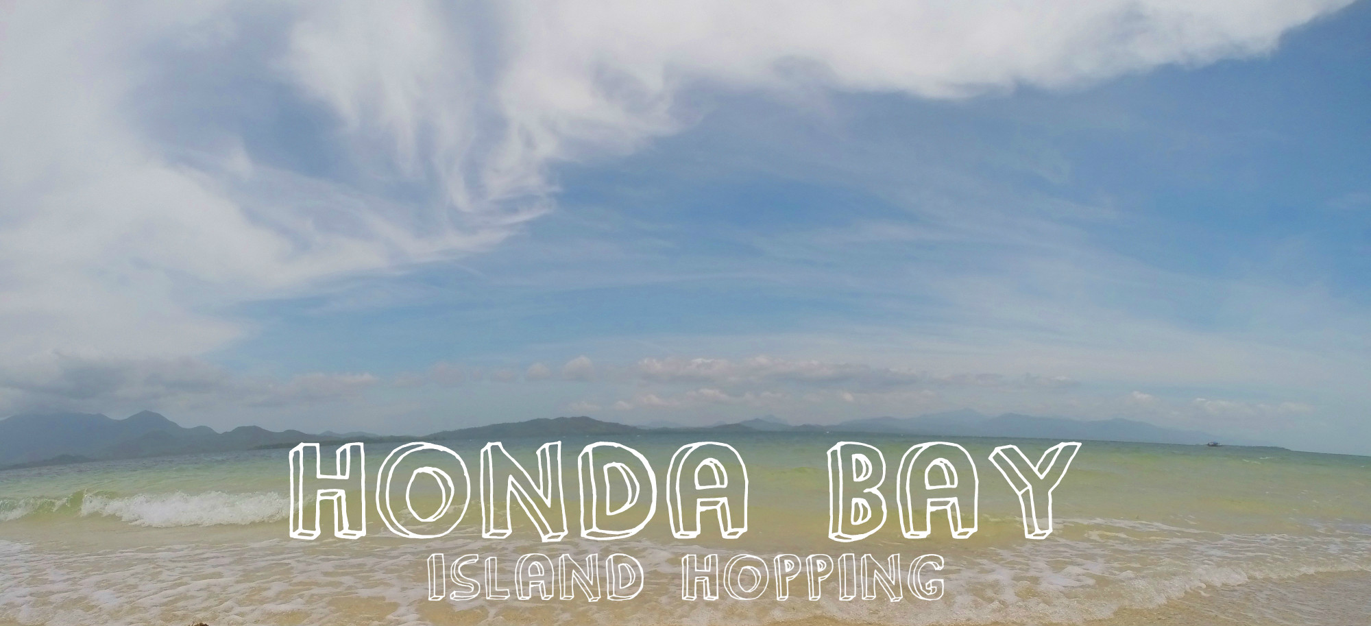 Route 22 Honda >> Honda Bay, Palawan, Philippines - Our Wedventure