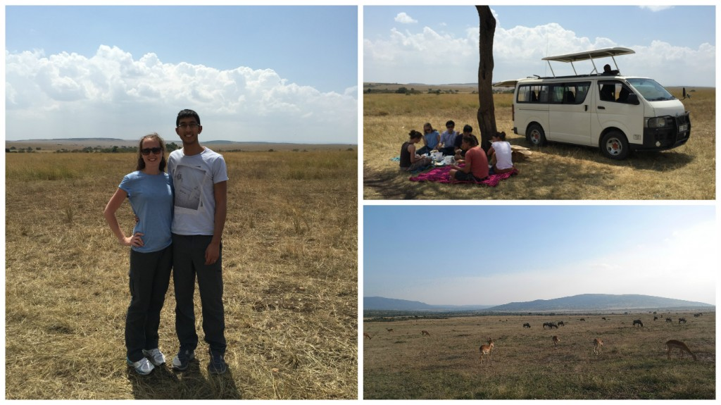 Lunch in the Maasai Mara