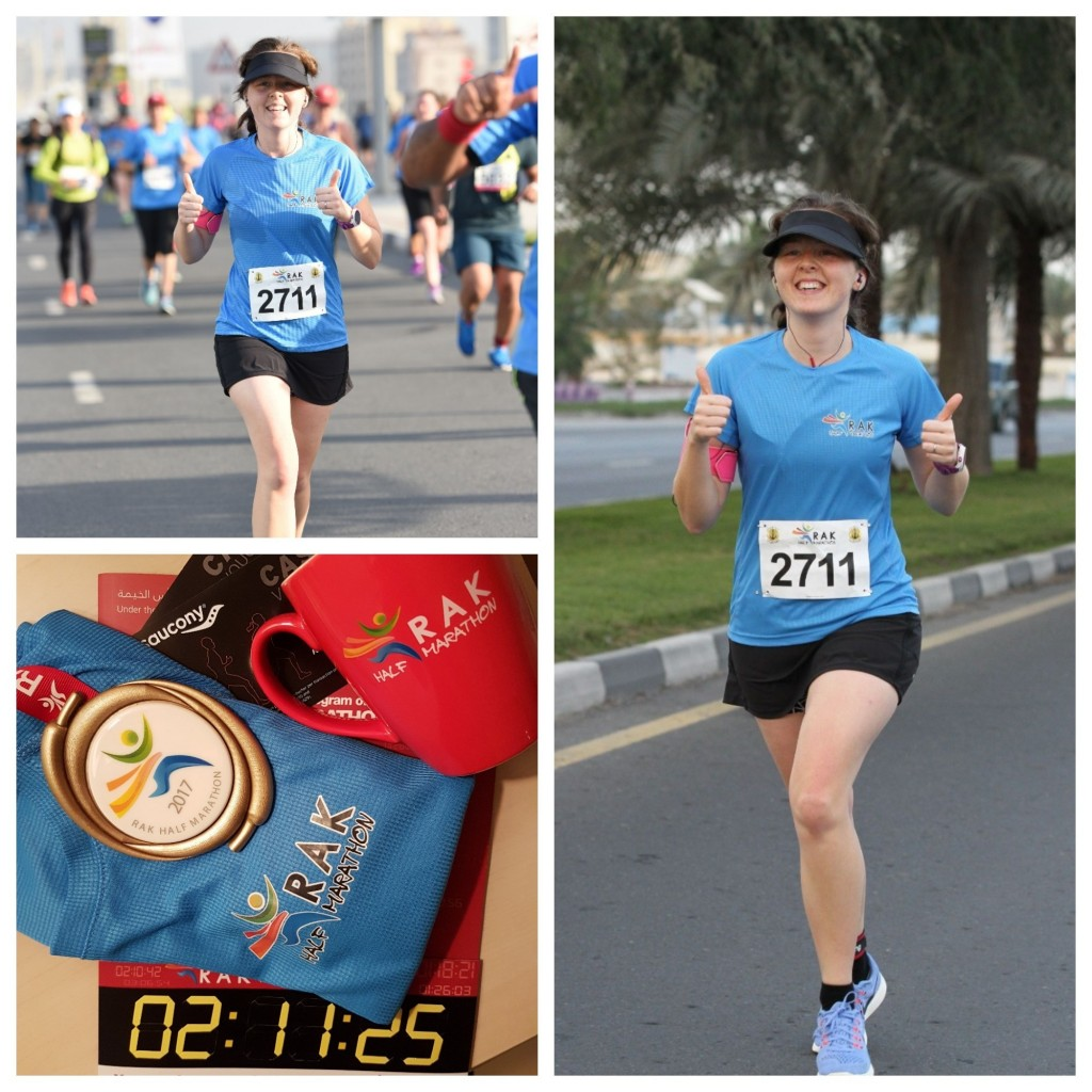 RAK Half Marathon Official pics and swag