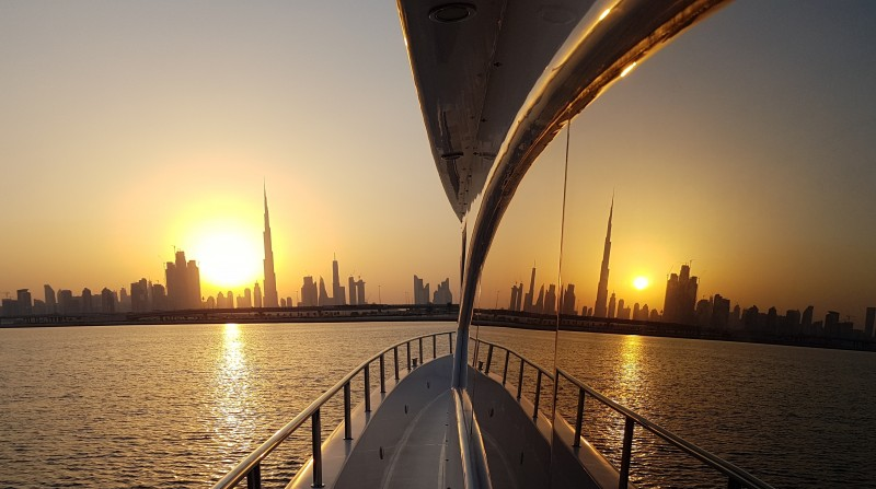 Dubai Sunset cruise